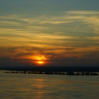 закат на Волге :: Ильмира Насыбуллина