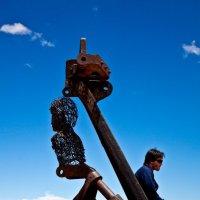 Боливия2012, Уюни, Кладбище паровозов, :: Олег Трифонов