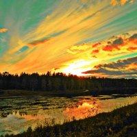 Осенний закат :: Натали V