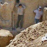 раскопки в Афросиабе :: Антон Райхштат