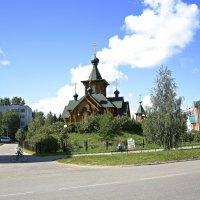 Храм в Сыктывкаре. 1 :: Анатолий Викторович КЛИМЕНКОВ