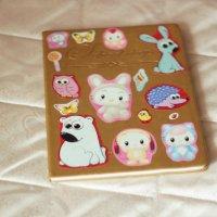 Мой дневник с наклейками, которые светятся в темноте ! :: Катя Адо