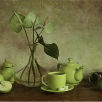 Зеленый чай. :: Вероника Мандрика