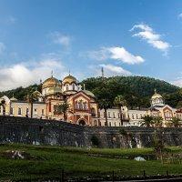 Новый Афон. Монастырь. Абхазия :: Виталий Ахмедьянов