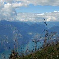 Озеро Гарда ,Италия, ...1760м над землей) :: Вероника Любимова