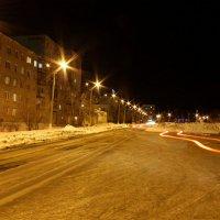 Свет в ночном городе :: Михаил Колокольников