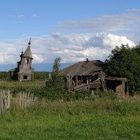 Покровская церковь в Васькино :: Валерий Чепкасов