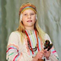 Девочка из русской летописи :: Зинаида Цикалова