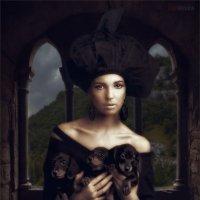 Дама с щенками таксы :: Виктор Перякин