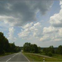 По дорогам с облаками :: galina tihonova