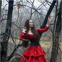 Девушка в красном :: Ренат Менаждинов