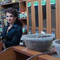 Продавщица кофе :: Алексей Видов