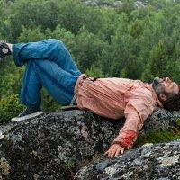 Человек, строящий воздушные замки :: Алексей Видов