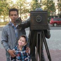 Вместе с сыном :: Равиль Альмухаметов