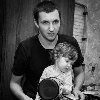 Папа и доча :: Maxim Rozhkov