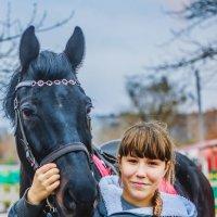 Моя любимая модель...обожаем лошадей) :: Катерина Алексеева