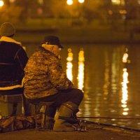 Ночная рыбалка :: Sergey Polovnikov