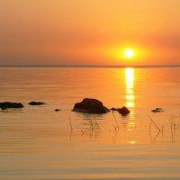 Закат солнца на Киевском море :: Олег Самотохин