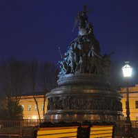 Новгородский Кремль вечером :: Константин Жирнов
