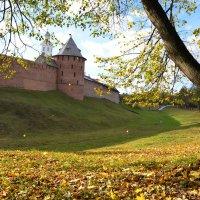 Осень в Новгородском Кремле (этюд 2) :: Константин Жирнов