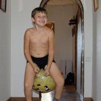 Я на мячике скачу! :: Елена Логвинова