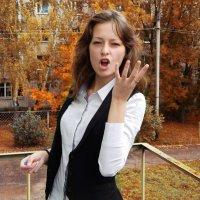 Не девушка, а персик :: Евгения Сусликова