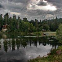 Домик у озера. №2. :: Наталья Юрова