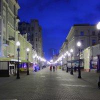 Ночной Арбат :: Роман Александрович