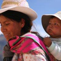 Боливийская мама и сын :: Naty ***
