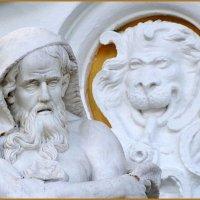 Старик и лев :: vadim