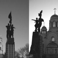 Комсомол,идущий из храма в... храм (новые реалии страны). :: Дмитрий Тилинин