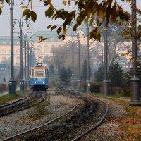 осенний трамвай :: Татьяна Исаева-Каштанова