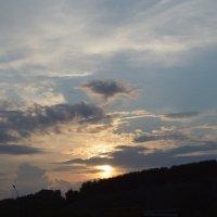 Любимый закат :: Евгения Латунская