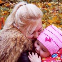 Мать и дочь :: Евгения Сусликова