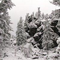 Первый снег в горах :: Ольга Иргит