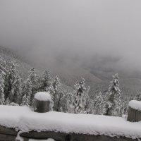 А внизу туман или снег... :: Ольга Иргит