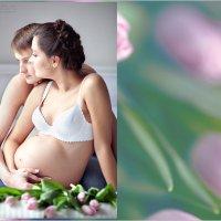 Фотосессия беременных с мужем :: Anna Zhuk