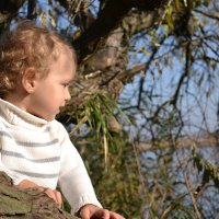 Эвелина у реки Ингул :: Мария Горбатюк