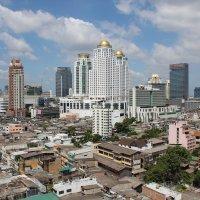 Бангкок, вид из окна моего номера :: Владимир Шибинский