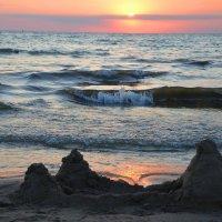 Закат на Черном море в Анапе :: Константин Жирнов