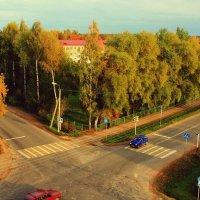 С крыши :: Екатерина Захарова