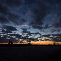 ...Не на выставках - на небе наблюдать колера... :: Сергей Никитин