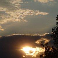 Блики на закате :: юрий Амосов