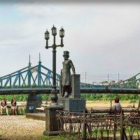 Тверь, Горсад, Пушкин, Старый мост :: Андрей Козов
