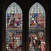 Витраж в солсберийском  соборе Девы Марии. :: Ольга