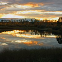 Осенний закат :: Сергей