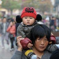 гости Шанхая :: Андрей Фиронов