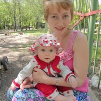 С дочкой :: Алена Федосова