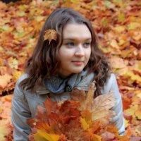 Осенний поцелуй :: Александра Сучкова