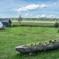 Волга в селе Учма :: Валерий Смирнов